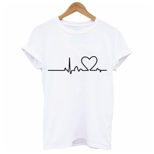 328a250e6 T-shirt damski Linia Życia R02 - Sklep internetowy Dybcia