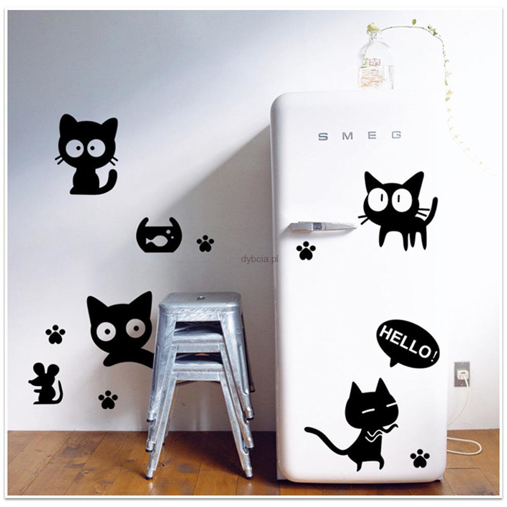 Koty Myszy Naklejki Na ścianę Lodówkę Sklep Internetowy