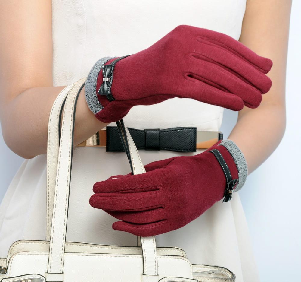 7bb0ba5466174 Ciepłe eleganckie rękawiczki damskie - Sklep internetowy Dybcia