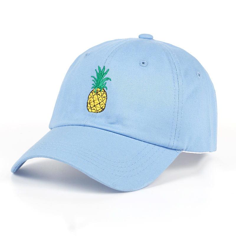 848c6d168b9141 Czapka damska z ananasem 6 kolorów - Sklep internetowy Dybcia