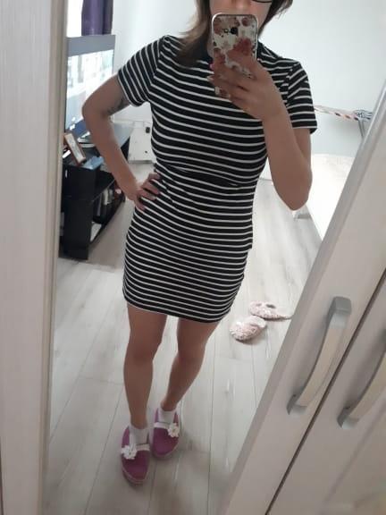 3b63a54a5c Sukienka damska w paski S-XL Z01 - Sklep internetowy Dybcia